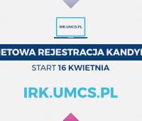 16 kwietnia rusza internetowa rejestracja kandydatów na...