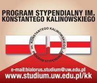 Program Stypendialny im. Konstantego Kalinowskiego