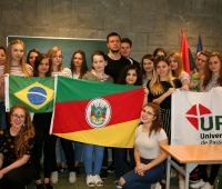 Spotkanie ze stypendystkami z Brazylii