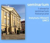 I otwarte seminarium historyczne