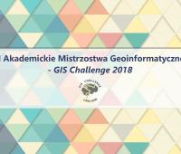"""Mistrzostwa Geoinformatyczne - """"GIS Challenge..."""