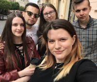 Wyjazd grupy studentów  na Ukrainę
