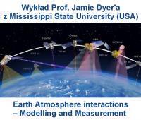 Wykład Prof. Jamie Dyer'a z Mississippi State University...
