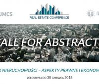 """Konferencja naukowo-branżowa """"Rynek Nieruchomości –..."""