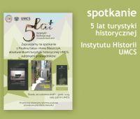 5 lat turystyki historycznej w Instytucie Historii