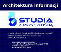 Architektura informacji - Studia z przyszłością
