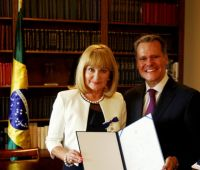 Order Rio Branco dla prof. Barbary Hlibowickiej-Węglarz
