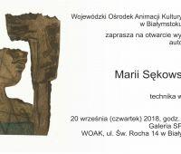 Grafoobrazy prof. Marii Sękowskiej