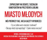 """Miasto Młodych"" - debata"