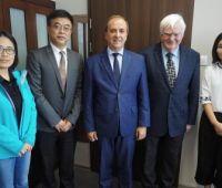 Wizyta delegacji chińskiej na UMCS