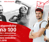 """Program Stypendialny """"100 na 100"""""""