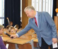 Rektor UMCS na wykładzie Uniwersytetu Dziecięcego