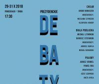 Prezydenckie Debaty Samorządowe - zaproszenie