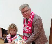 Dziekan Robert Litwiński na wykładzie UD UMCS