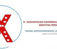 IV Ogólnopolska Konferencja Medycyna Personalizowana