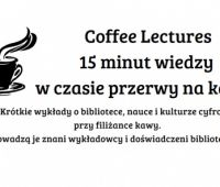 Coffee Lectures start December 5th