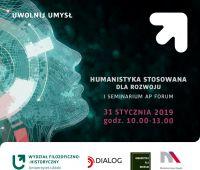 """""""Humanistyka stosowana dla rozwoju"""" - I seminarium na UŁ"""