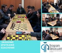 Zdjęcia ze środowych spotkań szachowych.