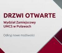 Za tydzień Drzwi Otwarte Wydziału Zamiejscowego w Puławach!