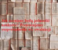 MNiSW ws. ewaluacji jakości działalności naukowej
