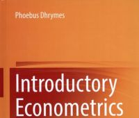 Introductory econometrics / Phoebus J. Dhrymes with...