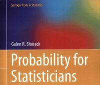 Probability for statisticians / Galen R. Shorack. – 2nd ed