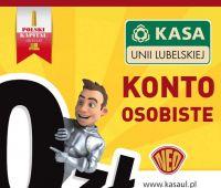 Darmowe konto IKS w Kasie Unii Lubelskiej