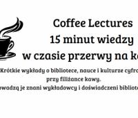Coffe Lectures z dr. Przemysławem Wiatrem