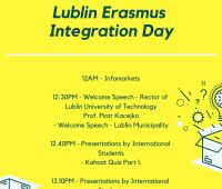 Lublin Erasmus Integration Day