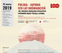 Polska-Japonia 100 lat doświadczeń
