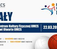 Turniej o Puchar JM Rektora UMCS już w następny piątek!