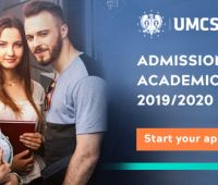 Admissions for the academic year 2019/2020