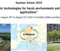 Summer School 2019 organizowana przez IHP