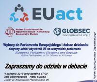 Zaproszenie na Debatę EUact