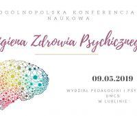 Konferencja poświęcona Higienie Zdrowia Psychicznego- 9...