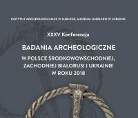 Zaproszenie na jubileuszową konferencję archeologiczną