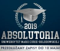 Absolutoria 2019 - zapisy do 10.05.2019 r.