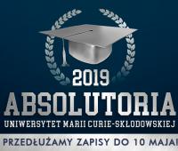 Przedłużenie zapisów na Absolutoria 2019