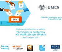 Partycypacja polityczna w świecie - zaproszenie na...