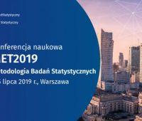 """Konferencja """"Metodologia Badań Statystycznych"""" MET2019"""