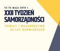 XXII Tydzień Samorządności