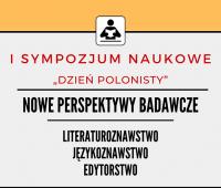 """""""Dzień Polonisty"""" - 16 maja 2019 r."""