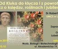 Wykład dra Roberta Zubla