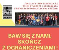 Dzień Studenta i Doktoranta z Niepełnosprawnościami (24.05.)
