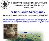 Wykład prof. Anity Szczepanek