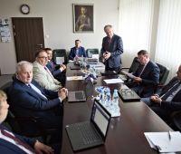 Pierwsze posiedzenie Rady Uczelni