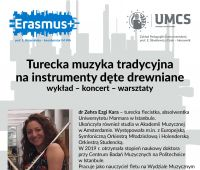 Dr Zehra Ezgi Kara ze Stambułu w Instytucie Muzyki