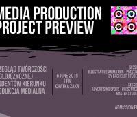 Przegląd Projektów Produkcji Medialnej (6.06.)