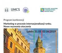 """""""Marketing w procesie internacjonalizacji rynku""""..."""