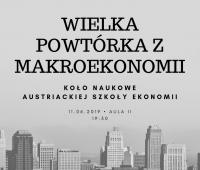 Wielka powtórka z makroekonomii